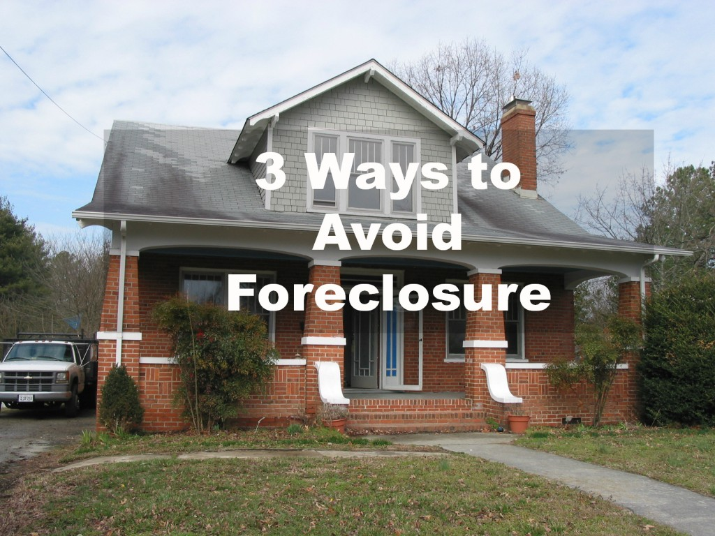 3 Ways to Avoid Foreclosure in Richmond VA