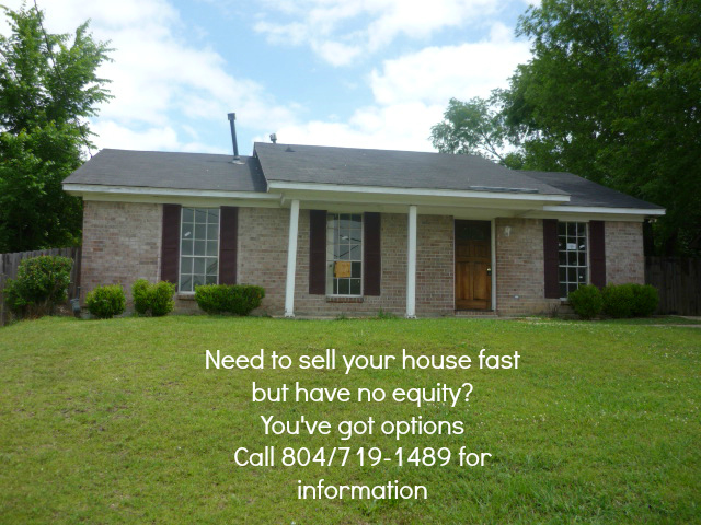 Sell your house with no equity